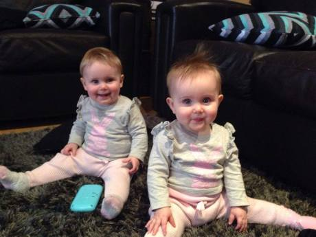 twins 10 months